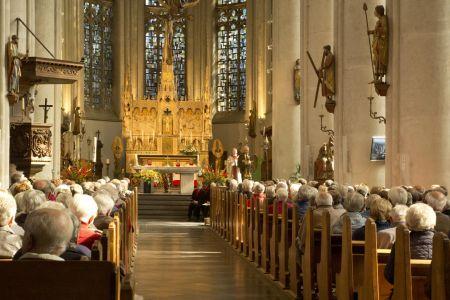 Viering in de kerk